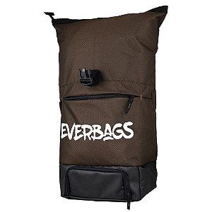 Mochila Térmica Fitness Big Bag Marrom Everbags