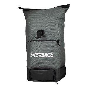 Mochila Térmica Fitness Big Bag Cinza Everbags