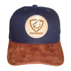 Boné Trucker Snapback Telinha Everbags Azul