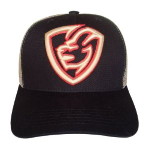 Boné Trucker Snapback Telinha Everbags Black