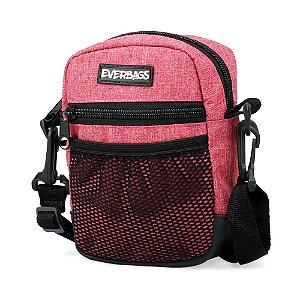 Shoulder Bag Vermelho Mescla Mini Redinha Everbags