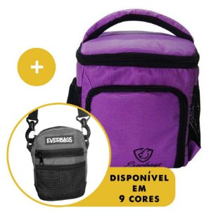 Kit Térmica Compacta Roxo Lagarto + Shoulder Bag