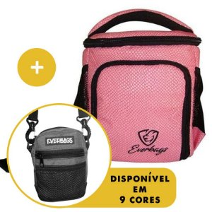 Kit Térmica Compacta Rosa Cobra + Shoulder Bag