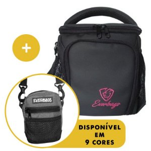 Kit Térmica Compacta Black Rosa Automotiva + Shoulder Bag