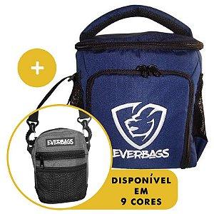 Kit Térmica Compacta Marinho + Shoulder Bag