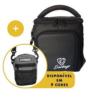 Kit Térmica Compacta Black White Automotiva + Shoulder Bag