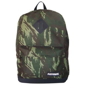 Kit Mochila School Camuflada + Fit Lancheira Camuflada Everbags