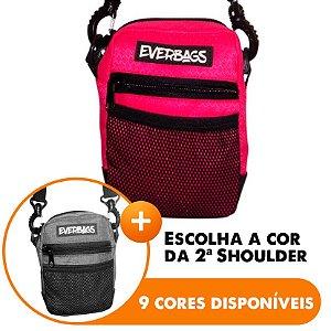 Shoulder Bag Rosa - Escolha A segunda Shoulder bag