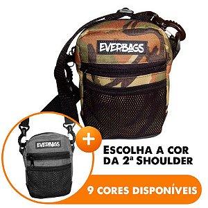 Shoulder Bag Camuflada - Escolha A segunda Shoulder bag