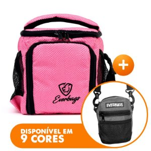 Bolsa Térmica Compacta Rosa Cobra + Shoulder Bag