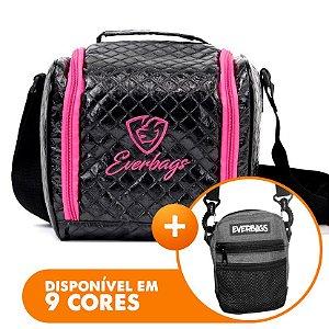 Bolsa Térmica Basic Black Rosa + Shoulder Bag