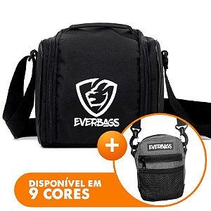 Bolsa Térmica Basic Black + Shoulder Bag