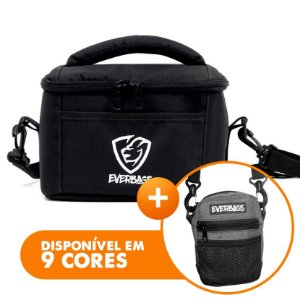 Bolsa Térmica Fit Lancheira Black + Shoulder bag