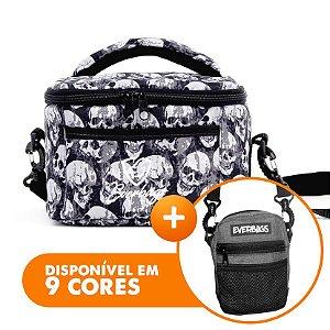 Bolsa Térmica Fit Lancheira Caveira + Shoulder bag