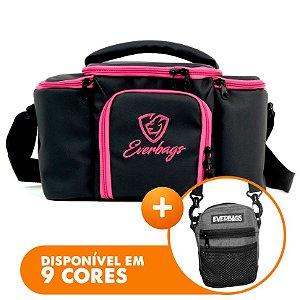 Bolsa Térmica Top Black Pink + Shoulder Bag