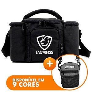 Bolsa Top Black + Shoulder Bag