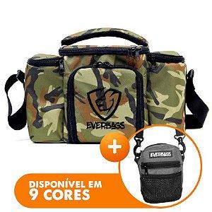 Bolsa Térmica Top Camuflada + Shoulder Bag