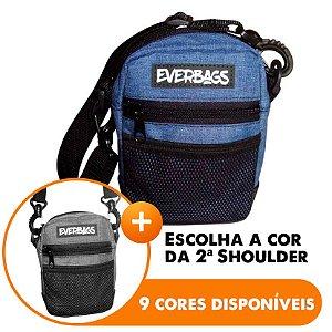 Shoulder Bag Azul - Escolha A segunda Shoulder bag