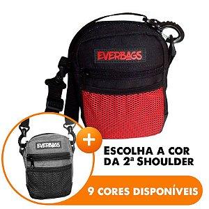 Shoulder Bag Black red - Escolha A segunda Shoulder bag