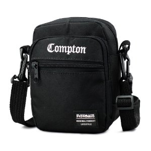 Shoulder Bag Black Compton Everbags