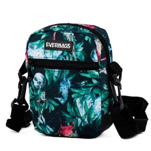 Shoulder Bag  Floral Verde Everbags