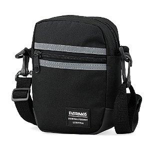 Shoulder Bag Preto Refletiva Everbags