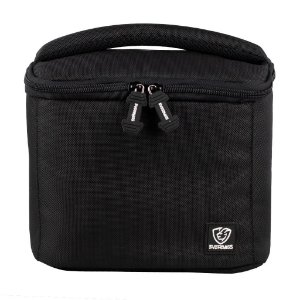 Bolsa Térmica Fitness Lancheira Lunch Bag Preto Everbags