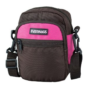 Shoulder Bag Marrom Rosa Everbags