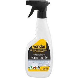 Limpador Multiuso para Vidros Biodegradável 500 ml - VONDER
