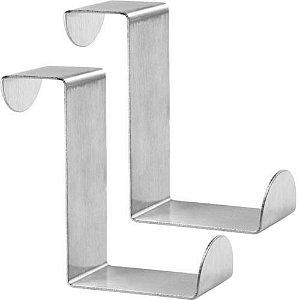 Ganchos Para Porta em Aço Inox - PRAT-K