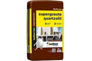 Super Graute 25 Kg - Quartzolit