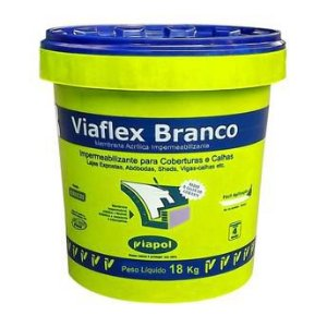 Viaflex Branco 18 Kg - Viapol
