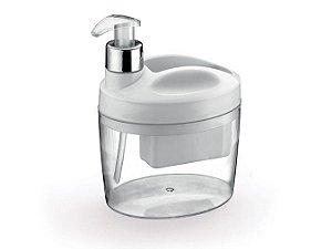 Porta Detergente E Bucha Branco - Arthi