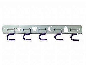 Porta Vassouras Kit-Tool 05 Ganchos - Secalux
