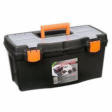 """Caixa De Ferramenta Plast. Utility Box 19.5"""" - SÃO BERNARDO"""