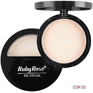 Pó Compacto Peles Claras - Ruby Rose