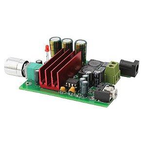 Placa Amplificador 100w Rms Subwoofer - C/ Crossover Ativo
