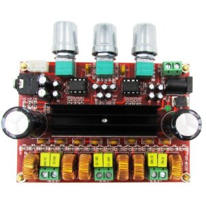 Placa De Amplificador De Áudio De 2.1 Canais Tpa 31116d2 X 2