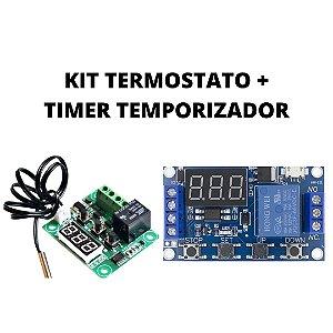 Timer + Termostato para chocadeira