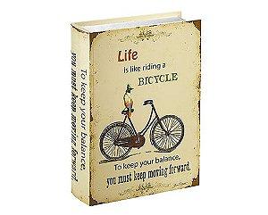 CAIXA LIVRO  - TEMA BICYCLE