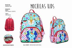 Mochila Kids - Florestinha
