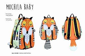 Mochila Baby - Raposa