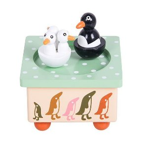 Caixa de Música Pinguins