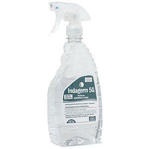 Indagerm 5G Spray Desinfetante com Quaternário de Amônio 750mL - Indalabor