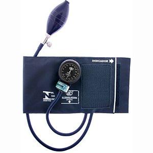 Aparelho de Pressão Adulto Nylon Fecho Velcro Azul Marinho - BIC