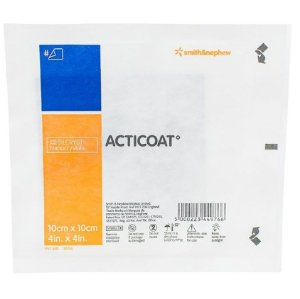 Curativo Acticoat 10cm x 10cm - Smith & Nephew