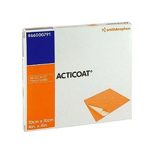 Curativo Acticoat 10cm x 10cm - Smith & Nephew