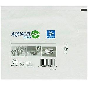 Curativo Aquacel AG+ EXTRA 10cm x 10cm - Convatec