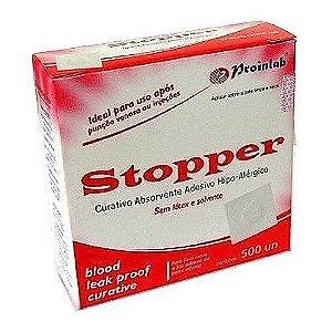 Curativo Stopper Branco (500UN) - Proinlab