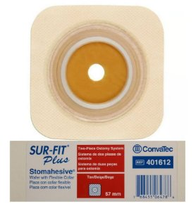 Placa de Colostomia com Micropore 57mm - Convatec